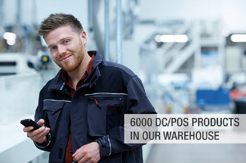 6000 DC/POS PRODUCTS IN OUR WAREHOUSE